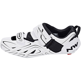 Northwave Tri-Sonic Shoes Men white/black